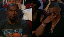 Kevin Durant Was NOT Feeling This Joke By Peyton Manning At The ESPYs (VIDEO)