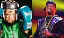 """50 Cent Won't Grant Conor McGregor Mercy, Keeps Trolling Him: """"Champ Don't Kill Him"""""""