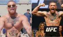 Weightlifter Tricks People Into Thinking He's Actually Conor McGregor (VIDEO)
