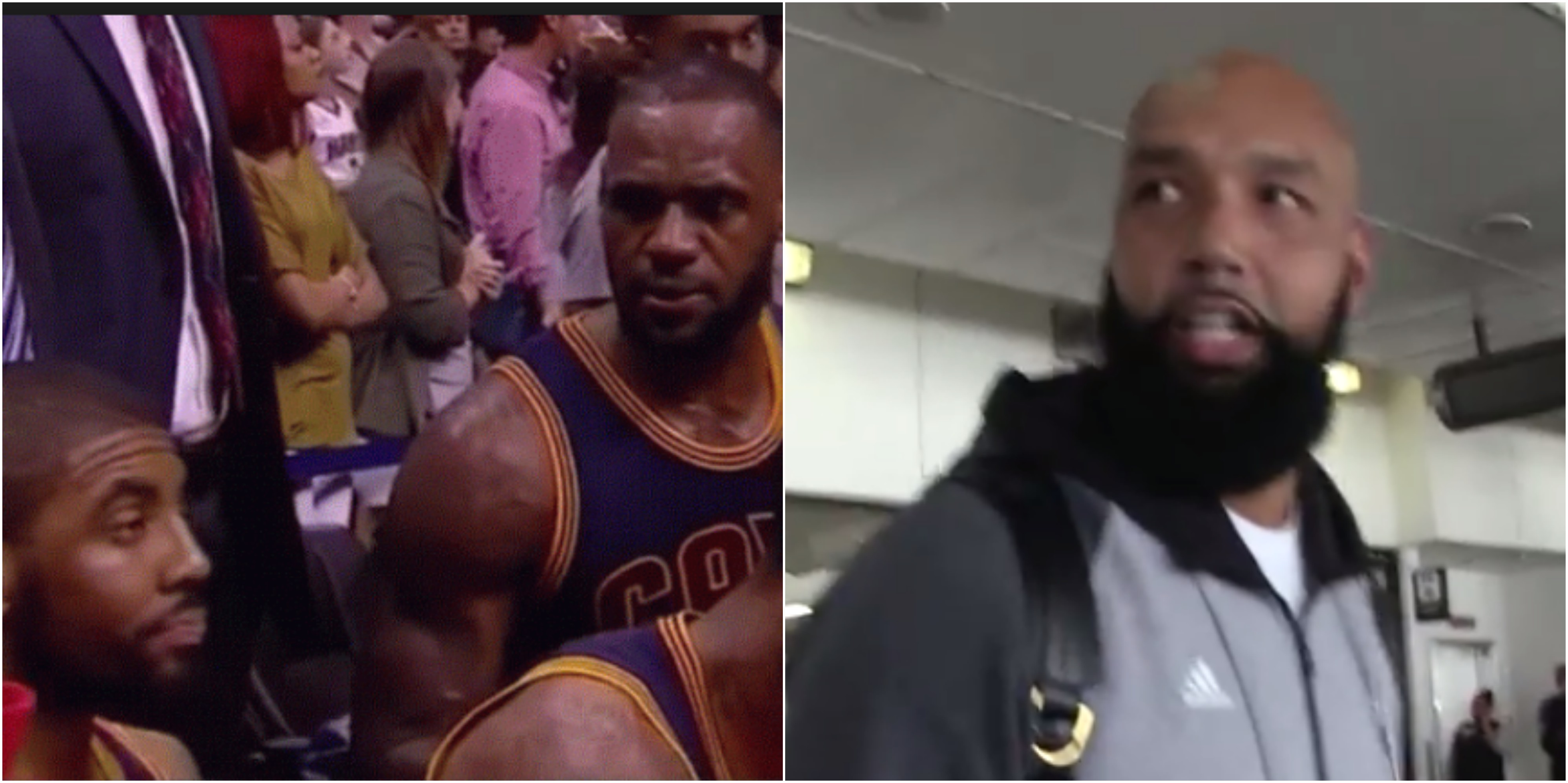 Drew Gooden Says LeBron & Kyrie Irving Should Settle Beef By