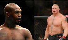 Brock Lesnar Responds To Jon Jones Calling Him Out At UFC 214: 'Be Careful What You Wish For'