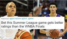 Elena Delle Donne Roasted After Saying She Hoped Lonzo Ball 'Blew Out His Shoe' During Summer League Game