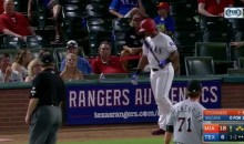 Umpire Ejects Adrian Beltre After He Moves the Batter's Box (VIDEO)