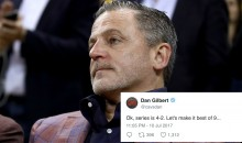 Cavs Owner Dan Gilbert Makes Dumb Joke About NBA Finals Loss, Gets ROASTED By Cavs Fans (TWEETS)