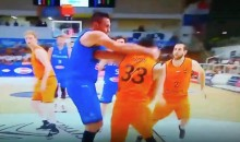 Clippers' Danilo Gallinari Throws Punch & Hurts Hand; Signed 3-Year, $65M Deal Weeks Ago (VIDEO)