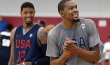 In an Ironic Twist, Paul George Says Kevin Durant Urged Him to Sign with OKC