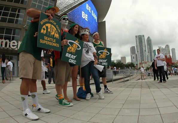 Oklahoma City Thunder v Miami Heat - Game Four