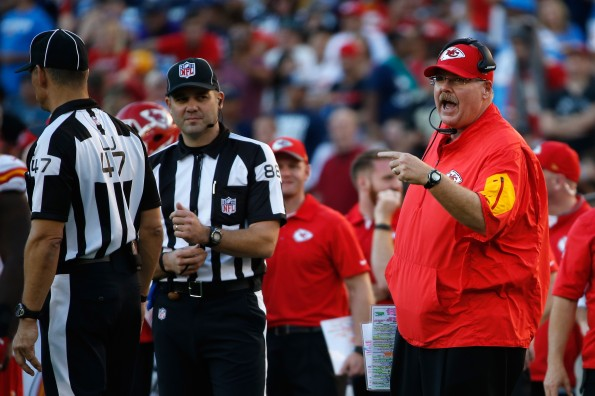 Kansas City Chiefs v San Diego Chargers