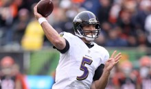 Ravens' Joe Flacco Is Close To Taking Over An NFL Record That No Quarterback Wants