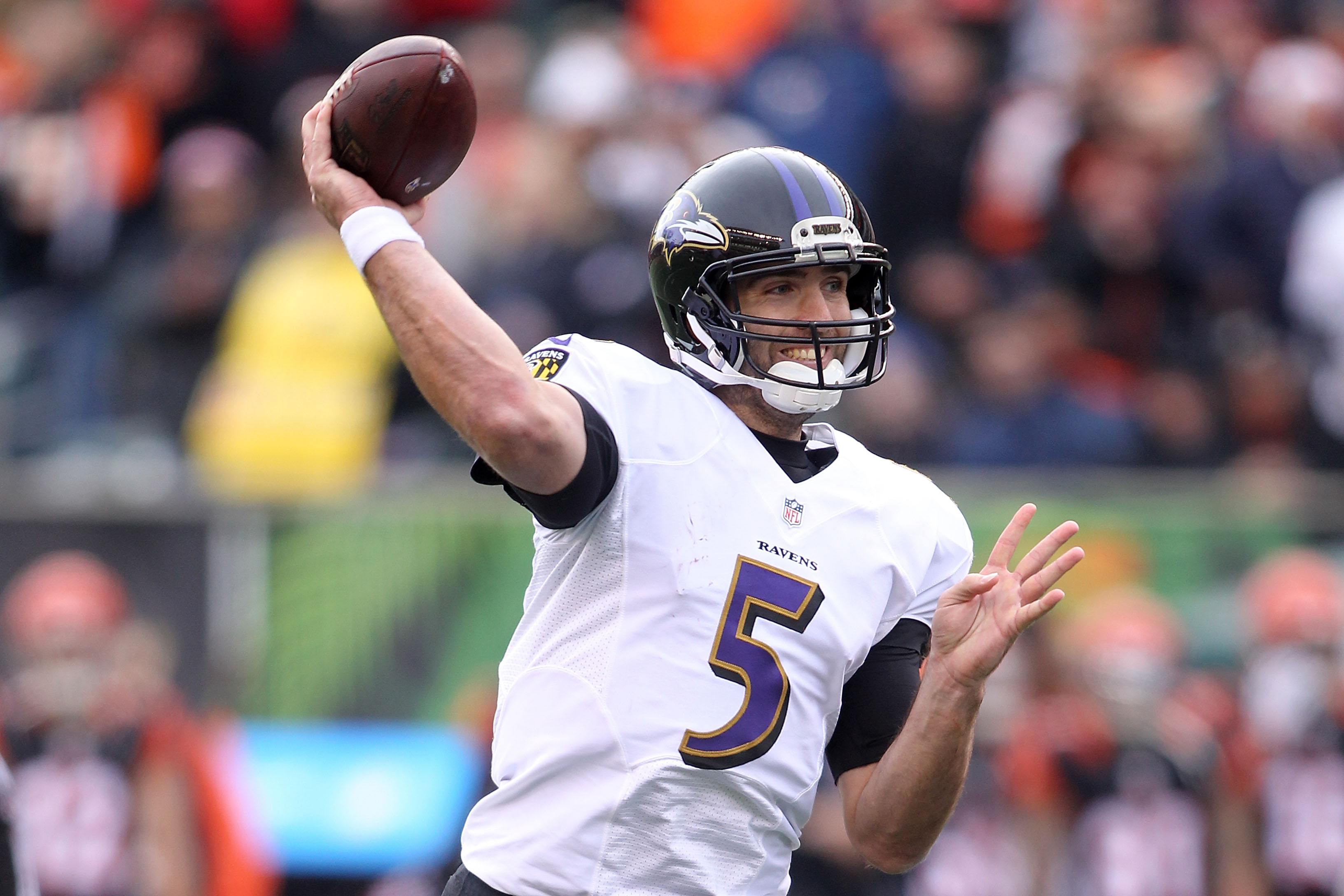 Ravens' Joe Flacco Dealing With Back Injury, Timetable For Return Unclear