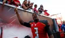 Bucs QB Jameis Winston Spotted Limping & Wearing Knee Brace At Camp