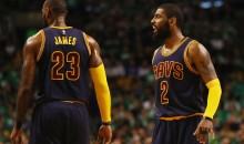 REPORT: LeBron James Won't Try To Convince Kyrie Irving To Stay