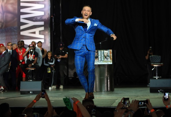 Floyd Mayweather Jr. v Conor McGregor World Press Tour - Toronto