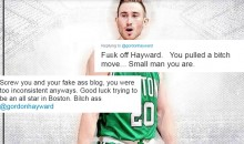 Utah Jazz Fans Go OFF On Gordon Hayward After He Chooses To Sign With Boston Celtics (TWEETS)