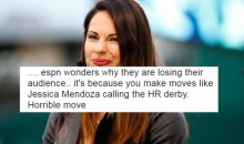 Baseball Fans Go OFF on Social Media About Jessica Mendoza Calling The Home Run Derby (TWEETS)
