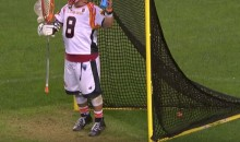 Lacrosse GOALIE Scores Unbelievably Hilarious Goal From His Own Net (Video)