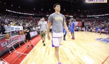 Lonzo Ball Ditches Signature ZO2s For Kobes At Summer League; Drops 36 Pts, 11 Asts, 8 Rebs, 5 Stls