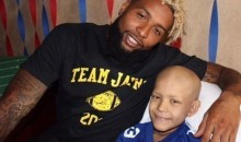 Odell Beckham Jr. Flies To Texas To Hang With Young Giants Fan Battling Cancer