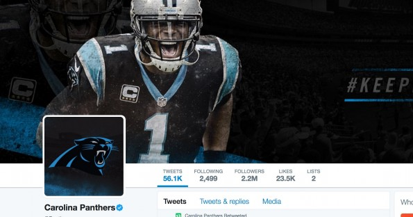 Panthers Twitter