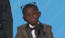 Saints Superfan Jarrius Robertson Brings Down the House after Winning the Jimmy V Perseverance Award (Video)
