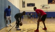 Carmelo and Kyrie Are Just As Good at Pickup Basketball as You Would Guess (Video)