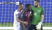 El Salvador Players Were Pinching and Biting USMNT Players Last Night (Video)