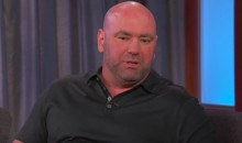 Dana White Explains on 'Kimmel' Why He Thinks Conor McGregor Can Win (Video)