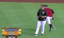 Mic'd Up D-Backs Pitcher Used the Opportunity to Try Selling His Truck (Video)