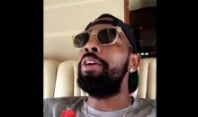 Is Kyrie Irving Trolling LeBron James With This 'I'm Coming Home' Snapchat? (Video)