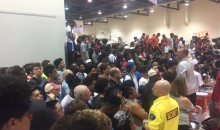 Look At The INSANE Amount Of People That Showed Up To Watch LaMelo Ball vs. Zion Williamson!!! (PICS)