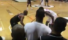 Chris Paul & James Harden Give Us a Sneak Preview During Drew League Game (Video)