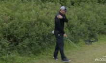 Sergio Garcia Attacks Bush, Injures Himself at The Open (VIDEO)
