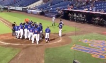 Tim Tebow Hits A Seventh-Inning Walk-Off Homer (VIDEO)