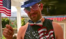 Of All The Athletes Who Wished Us A Happy 4th Of July, Aaron Rodgers Clearly Loves America The Most (Pics)