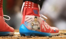 Bryce Harper Paid Tribute to Late Marlins Ace Jose Fernandez with Custom All-Star Cleats (Pic)