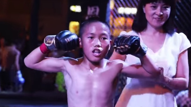 chinese mma club investigated by police after adopting orphans and teaching them to fight