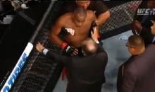 Disturbing Post-Fight Video Shows Just How Dazed & Confused Daniel Cormier Was Following Jon Jones KO (VIDEO)