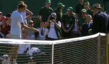 Russian Tennis Player Daniil Medvedev Has Total Meltdown, Throws Cash at Wimbledon Official (GIF)