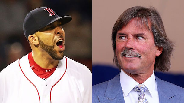 david price dennis eckersley confrontation get the fuck out of here
