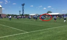 Janoris Jenkins Throws Punch At Eric Pinkins At Giants Camp (VIDEO)