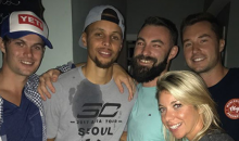 Steph Curry Crashes House Party; Proceeds To Chug Multiple Bud Lights (VIDEO)