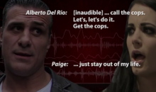 Alberto Del Rio & Paige: Audio From Airport Incident, 'Leave Me The F**k Alone' (AUDIO)