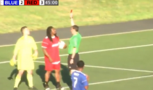 Marshawn Lynch Gets Red Card In Charity Soccer Game For Going Full 'Beastmode' (VIDEO)