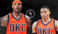 REPORT: Carmelo Anthony & Oklahoma City Thunder Have Mutual Interest