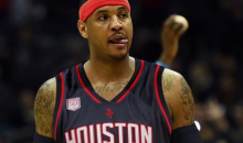 REPORT: Carmelo Anthony Only Wants A Trade To Rockets, Not Cavaliers Because of Kyrie Drama
