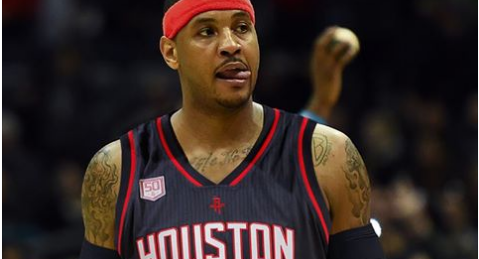 on sale 3af6e a3646 REPORT: Knicks Likely To Trade Carmelo Anthony To Rockets ...