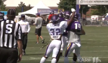 Minnesota Vikings' Laquon Treadwell, Antone Exum Get Into A Brawl At Training Camp (VIDEO)