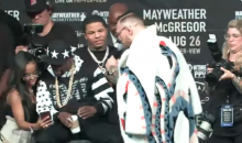 Conor McGregor To Floyd Mayweather: 'You & 50 Cent Are Two Fake Money B*tches' (VIDEO)