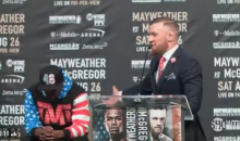 McGregor On Mayweather: 'He's In A Fooking Track Suit, He Can't Even Afford A Suit Anymore' (VIDEO)