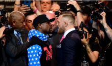 Video Reveals What Mayweather & McGregor Really Said During That Intense Face-to-Face (VIDEO)